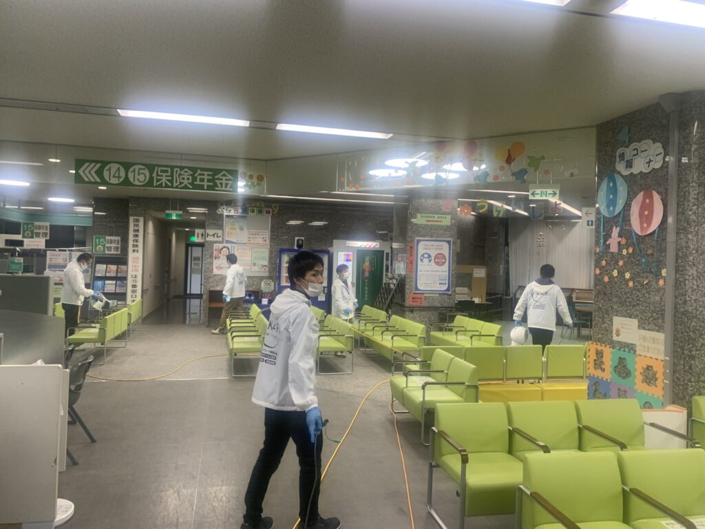大阪市港区役所庁舎04