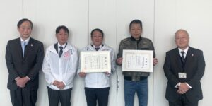 松井大阪市長からの感謝状の贈呈式3