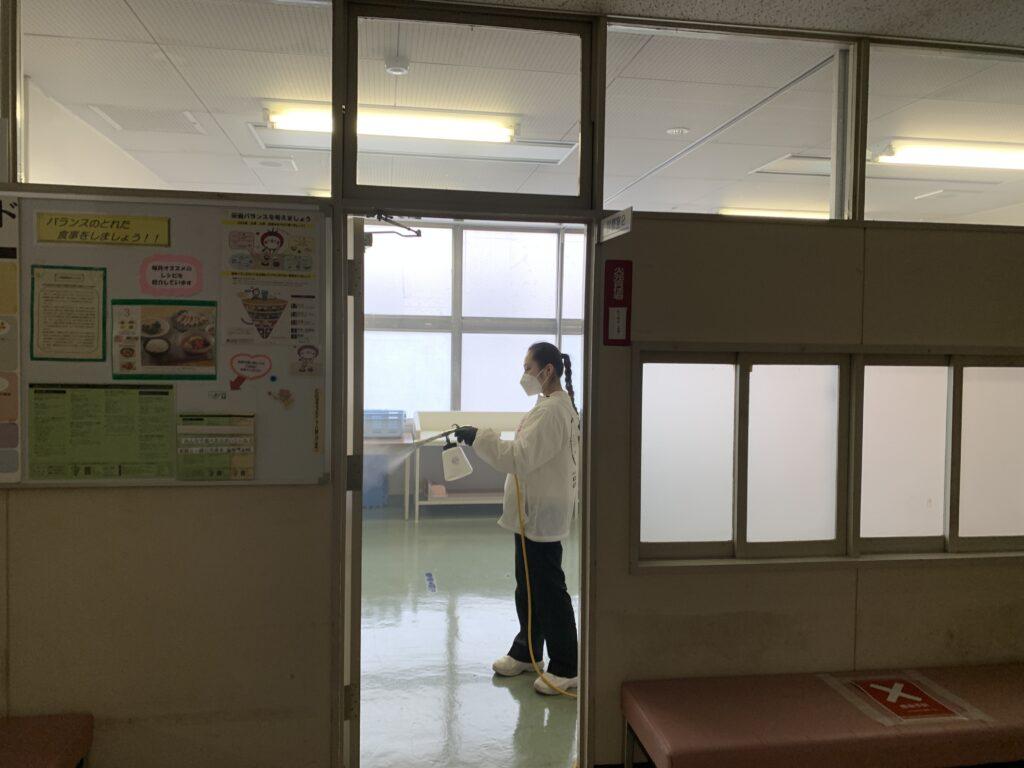 大阪市此花区役所庁舎施工風景05