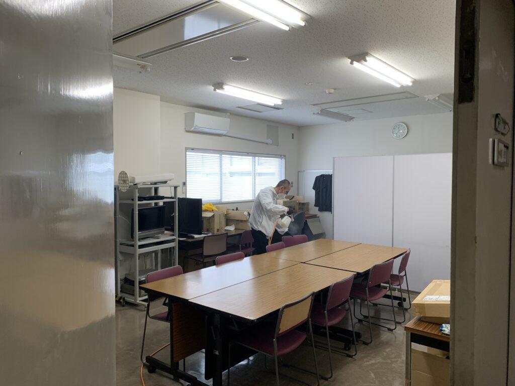 大阪市此花区役所庁舎施工風景06