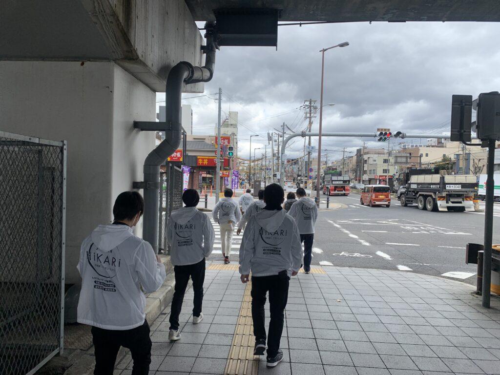 大阪市此花区役所庁舎施工風景15